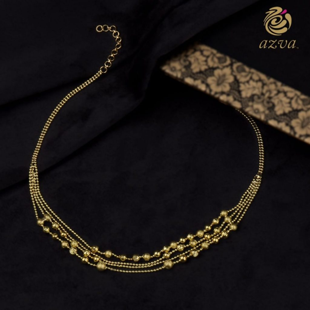 Handcrafted Gold Choker From Azvavows