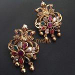 Precious Silver Kundan Earrings From Thetiysha