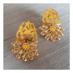 Pretty Silver Earrings From Studded India