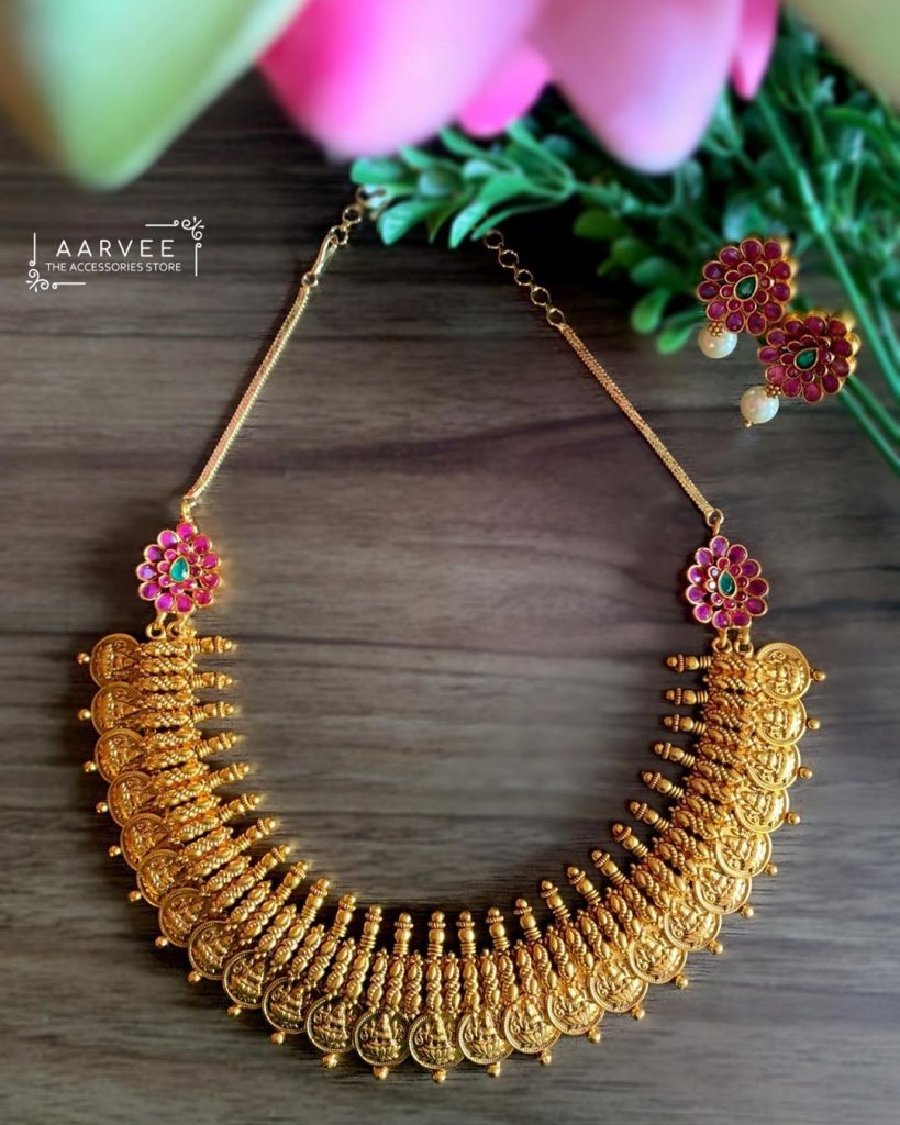 Pretty Temple Necklace From Aarvee