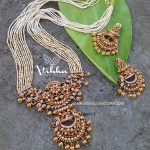 Stunning Chandbali Pendant Necklace From Vibha Creations