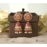 Stylish Jhumkas From Meermankaa