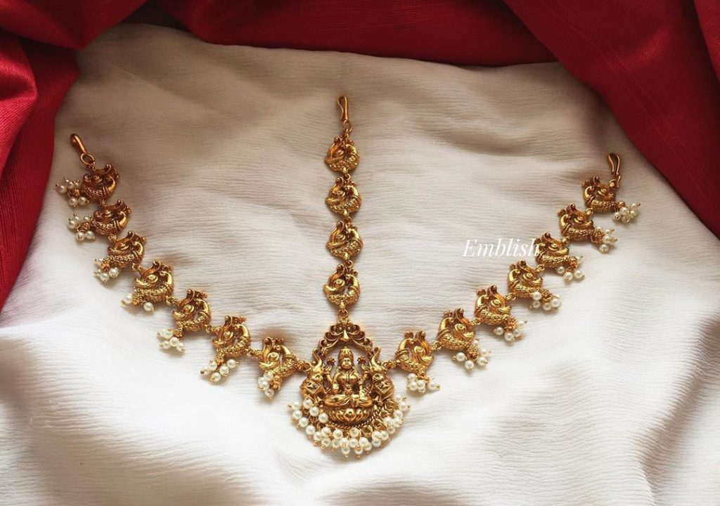 Temple Bridal Headgears From Emblish Coimbatore