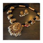 Traditional Thread Necklace From House Of Jhumkas