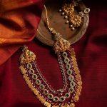 3 layer Lakshmi Matte Finish Necklace From Quills And Spills