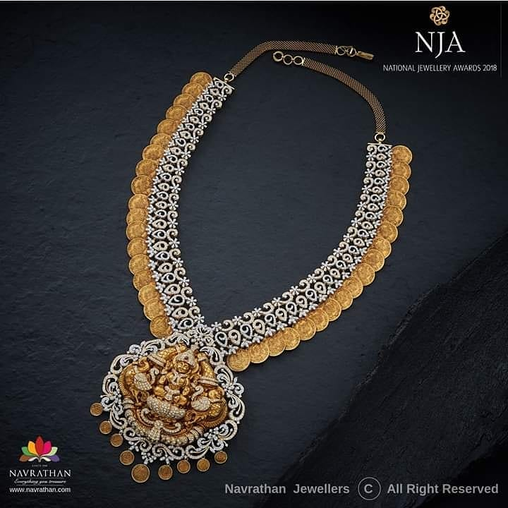Alluring Necklace From Navrathan1954