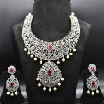 Amazing American Diamond Necklace Set From ASP Fashion Jewellery