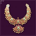 Antique Necklace From Manjula Jewellers