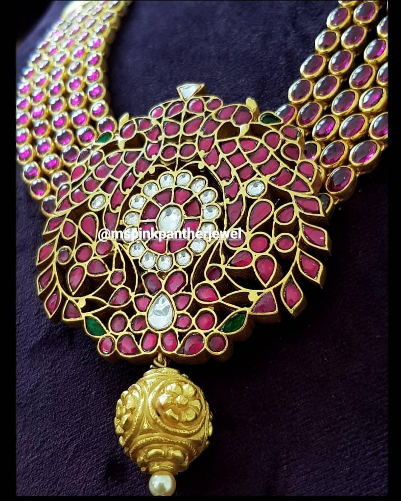 Attractive Silver Necklace From Ms Pink Panthers