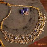 Beautiful Stone Necklace From Shri Paramani Jewels