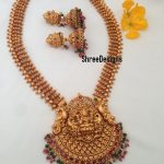 Beautiful Temple Long Necklace From Shree Designs