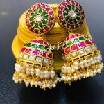 Cute Kundan Jhumkas From Bespoke Jadau