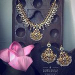 Cute Necklace Set From Aabharam
