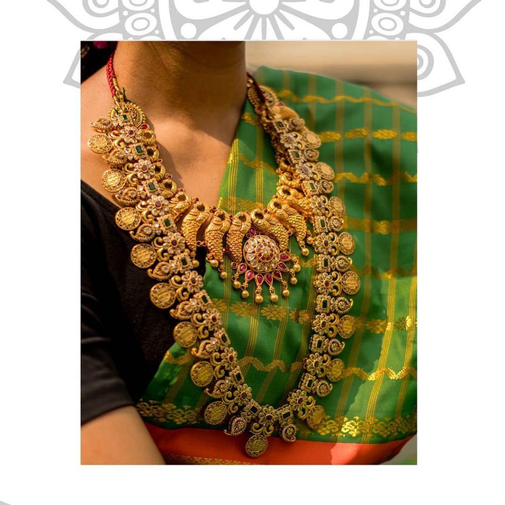 Decorative Silver Necklace From Sukra Jewellery