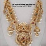 Exclusive Gold Necklace From Sri Mahalakshmi Gems And Jewellers