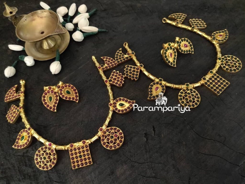 Exclusive Silver Necklace From Parampariya