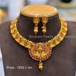 Exclusive Temple Necklace From Shubam Pearls