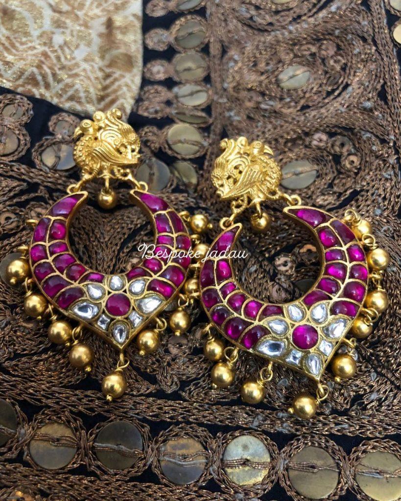 Fashionable Earrings From Bespoke Jadau