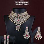Grand Diamond Bridal Set From Sri Mahalakshmi Gems And Jewellers