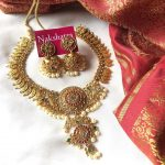 High Quality Super Grand Goddess Choker Set From Nakshatra Chennai
