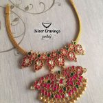 Pretty Silver Kundan Necklace From Silver Cravings Jewellery