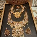 Silver Polki Bridal Jewellery Set From Vivah Bridal Collections