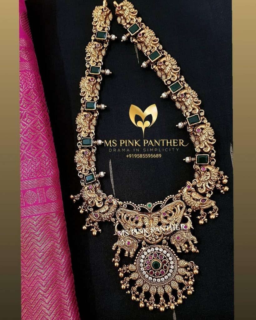 Sparkling Silver Necklace From Ms Pink Panthers