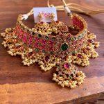 Stunning Choker Necklace Set From Zahana