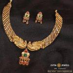 Stylish Gold Necklace From Sri Vasavi Thanga Maligai