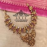 Stylish Silver Necklace From Sree Exotic Silver Jewelleries