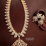 Stylish Stone Necklace Set From Surashaa