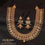 Unique Gold Necklace From Sri Vasavi Thanga Maligai