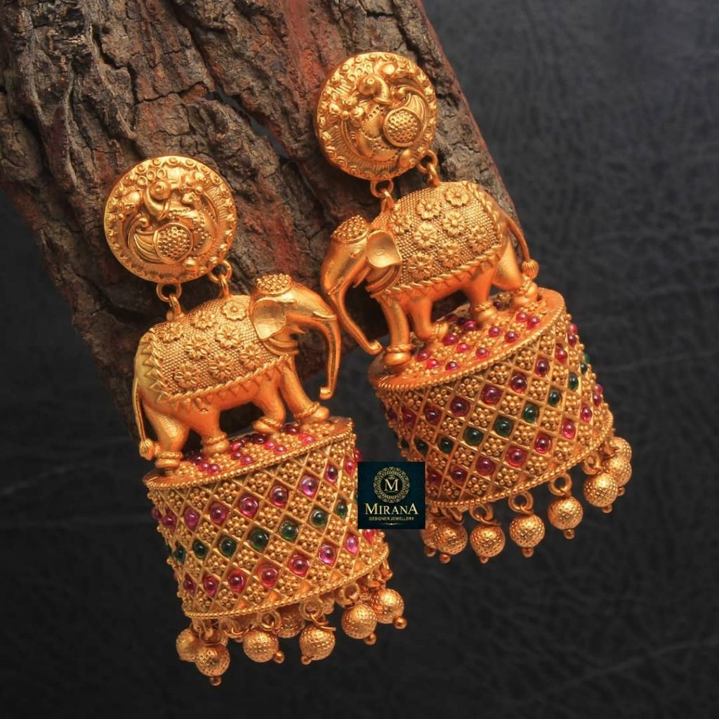 Unique Kundan Earrings From Miranbymegha