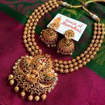 Unique Necklace Set From House Of Jhumka