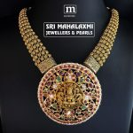 Amazing Gold Necklace From Sri Mahalaxmi Jewellers And Pearls
