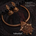 Antique Necklace Set From Aabushan Jewellery