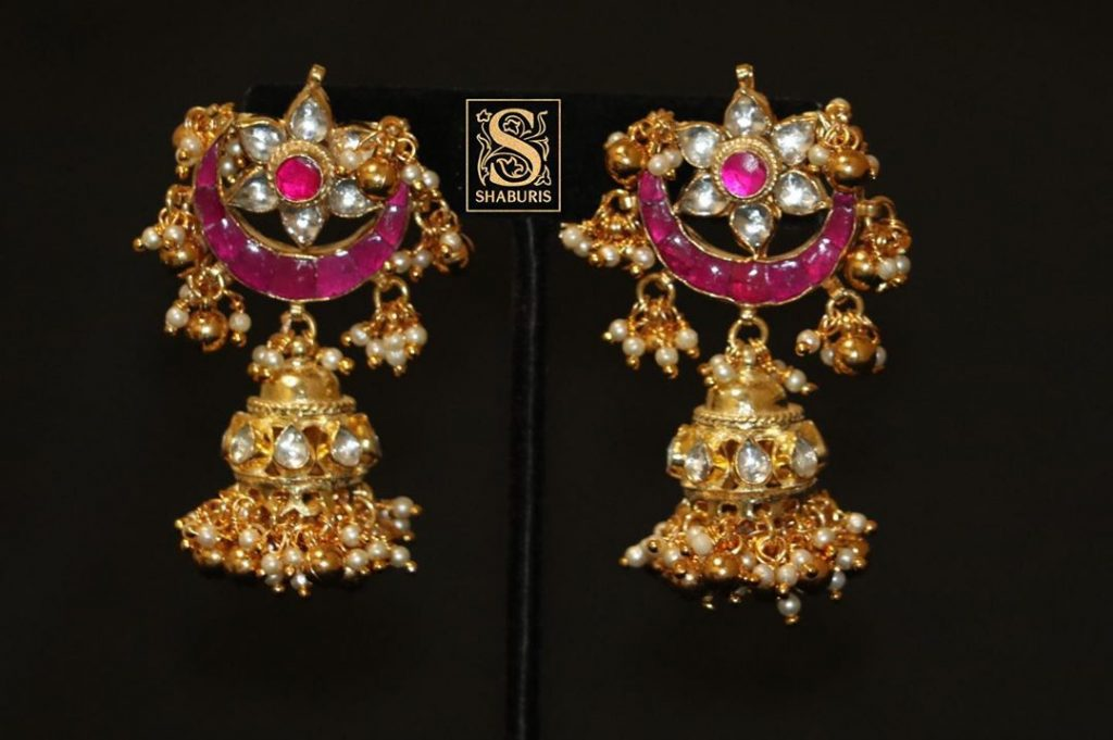 Attractive Jhumkas From From Shaburis