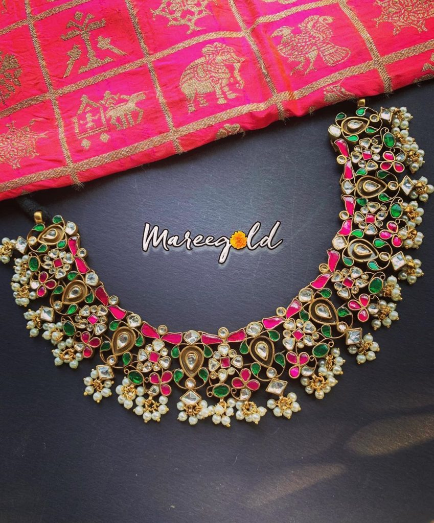 Attractive Silver Necklace From Maree Gold