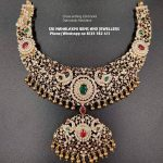 Beautiful Diamond Necklace From Sri Mahalakshmi Gems And Jewellers