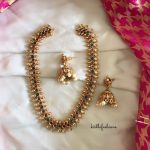 Beautiful Necklace Set From Kirthi Fashions