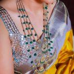 Beautiful Pearl Necklace From Rajatamaya