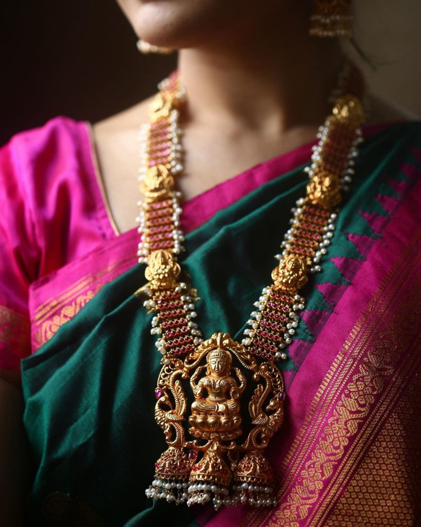 Beautiful Temple Necklace From Marigold