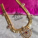 Charming Silver Necklace From Sree Exotic Silver Jewelleries