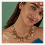 Classic Gold Necklace From Jewellery By Nikitha