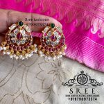 Classic Silver Earrings From Sree Exotic Silver Jewelleries
