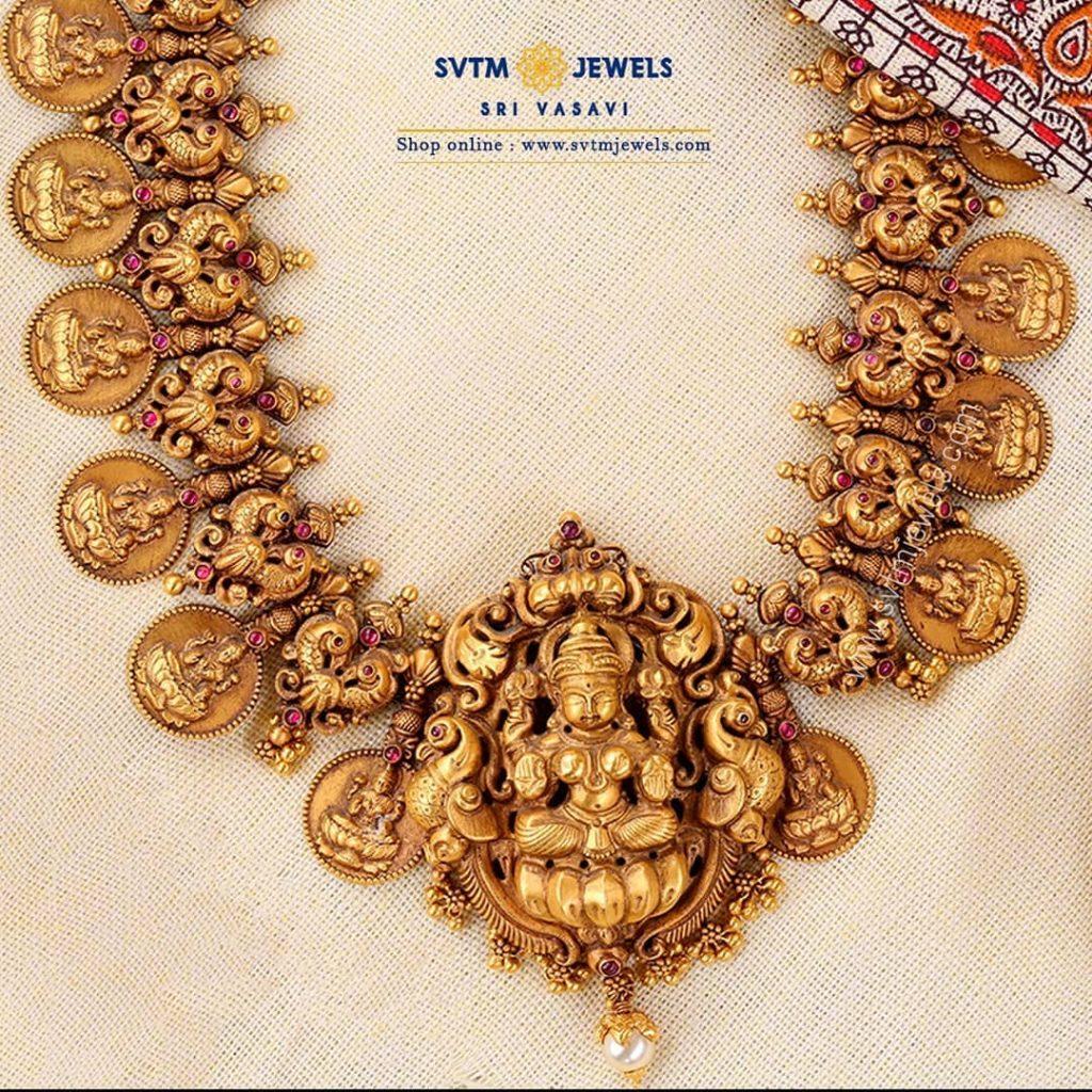 Classic Temple Necklace From Sri Vasavi Thanga Maligai