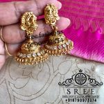 Cute Silver Jhumas From Sree Exotic Silver Jewelleries