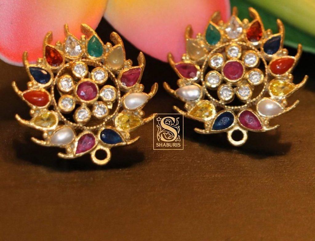 Designer Silver Earrings From The Shaburis