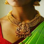Ethnic Necklace Set From Mari Gold By Aadyaa