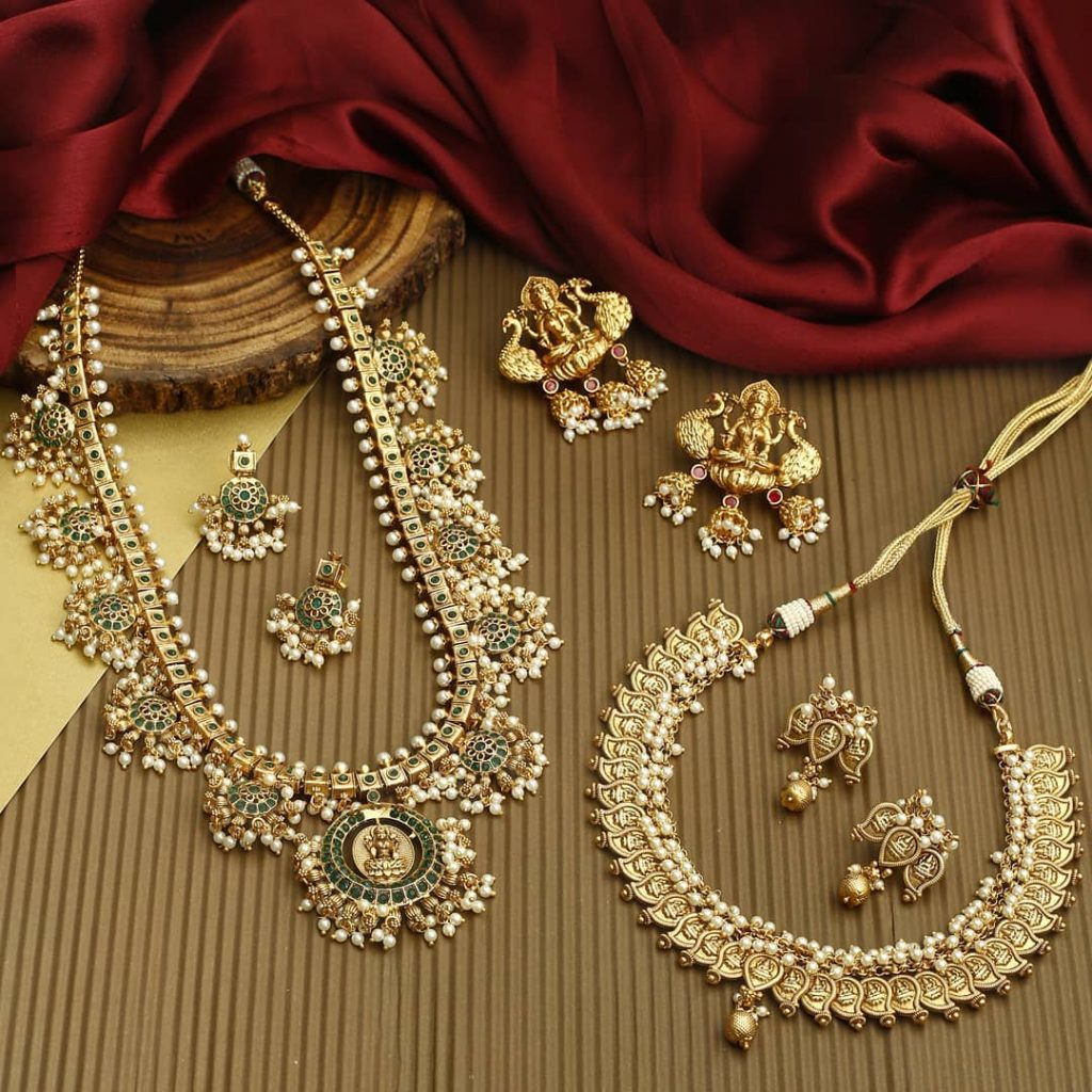 Gold Plated Temple Jewellery From The Bling Bag